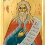 Prophet Zacharias, der Vater des Vorläufers