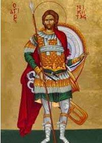 Großmartyrer Nikitas, Symeon von Thessaloniki
