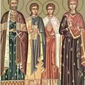 Großmartyrer Evstathios und seine Gefolgschaft
