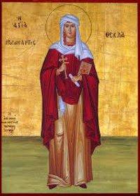Großmartyrerin Thekla, Silouanos, der Athonite