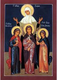 Martyrerinnen Sophia, Pisti, Elpida und Agapi