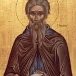 Seliger Kyriakos, der Anachoret