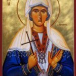 Martyrer Karpos und Papylos, Neumartyrerin Chrysi