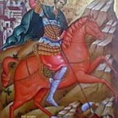 Großmartyrer Dimitrios, des myronströmenden