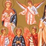 Prophet Daniel und die drei Jünglinge, Dionysios von Zakynthos