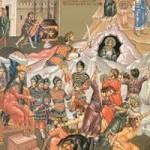 Die von Herodes geschlachteten Säuglinge, seliger Markellos