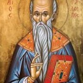 Martyrerpriester Charalambos, Zínon, der Briefträger, Anastasios von Jerusalem