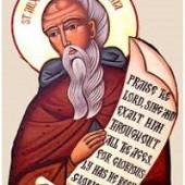 Totensamstag, seligen Avxentios, Abraam und Máron