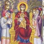 2. Gottesmutterpreisungen, Auffindung des Ehrwürdigen Kreuzes
