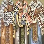 Die Priestermartyrer der Krim, das Kollyba-Wunder des heiligen Theodoros Tyron