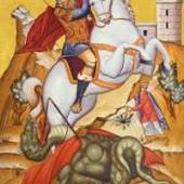 Großmartyrer Georgios, der Trophäenträger