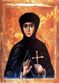 Martyrerin Theodosia aus Konstantinopel