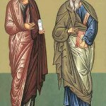 """Apostel Bartholomaios und Barnabas, Fest der Gottesgebärerin """"Axion estin"""", Loukas, Erzbischof von Krim"""