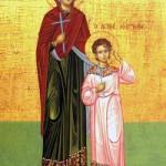 Martyrer Kírikos & Ioulitta