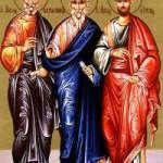 Apostel Silas, Siluanos, Kriskis, Epainetos und Andronikos