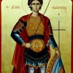 Großmartyrer Phanourios, seliger Poimín