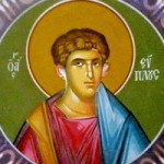 Martyrer Evplos, der Diakon, Nifon von Konstantinopel