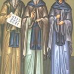 Selige Dalmatos, Faustos und Isaakios, Theodora von Thessaloniki