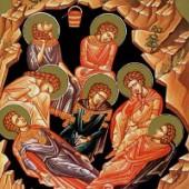 Die sieben Jünglinge in Ephesos, selige Evdokia