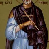 Martyrer Evsignios, Nonna, die Mutter des Grigorios des Theologen, seliger Evgenios von Ätolien