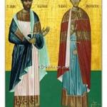 Martyrer Photios und Anikitos, Pamphilos und Kapiton