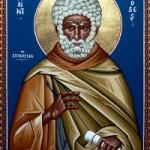 Seliger Moses der Äthiopier, Martyrer Diomidis und Lavrentios
