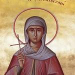 1. Lukassonntag, Apostel Aristarchos, Martyrer Kallistratos, Neumartyrerin Akylina