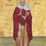 Apostelgleiche Thekla, Siluan der Athonit, Auffindung der Ikone der Panagia Myrtidiotissa