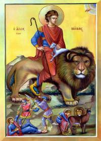 Martyrer Mamas, Johannes von Konstantinopel, der Faster