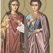 Martyrer Evlambios und Evlambia, Theophilos der Bekenner