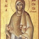 Selige Martyrerin Anastasia, die Römerin