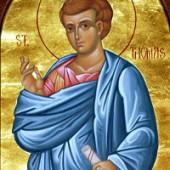 Apostel Thomas, seliger Martyrer Makarios der Neue