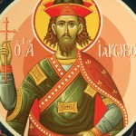 Großmartyrer Iákobos, der Perser, selige Pinouphrios & Nathanael