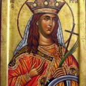 Großmartyrerin Aikaterina, Großmartyrer Merkurios