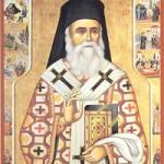 Nektarios, Bischof von Pentapolis, Martyrer Onisiphoros, selige Theoktisti & Matrona