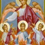 Prophet Daniel und die drei Jünglinge, Dionysios von Ägina
