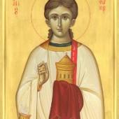 Sonntag nach Christi Geburt, Stephanos, der erste Martyrer, Theodoros, der Beschriftete