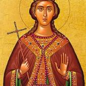 Großmartyrerin Barbara, Johannes von Damaskos, Martyrer Christodoulos und Christodouli