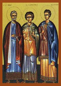 Minas Kalikelados (der gut Singende), Ermogenis, Evgrafos