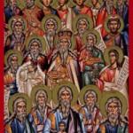 Sonntag der heiligen Vorfahren, die fünf Martyrer von Kappadokien, Martyrerjungfrau Lukia