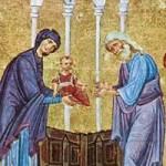 Symeon, der Gottesträger, Prophetin Anna, Martyrer Stamatis, Johannes & Nikolaos