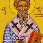 Meletios Patriarch von Antiochien, Antonios Patriarch von Konstantinopel, Neumartyrer Christos