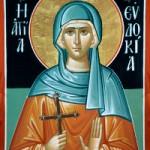 Selige Martyrerin Evdokia
