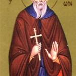 Apostel Herodíon, Ilarion, der Neue, Abt des Pelekití-Klosters