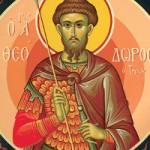Martyrer Chrysanthos & Dareia, das Kollyba-Wunder des heiligen Theodoros Tyron