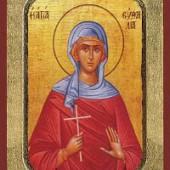 Martyrer Isychios, Jungfraumartyrerin Evthalia, seliger Nikolaos Planás