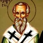 Basileios von Paros, der Bekenner, selige Anthoúsa