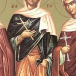 Der Akathistos Hymnos, Martyrerinnen Agapi, Irini, Chionía