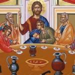 Großer Donnerstag, das mystische Abendmahl