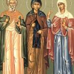 Klaudios, Diodoros und andere fünf Martyrer